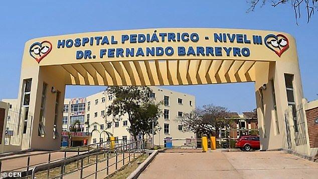 Hospital onde menina recebe acompanhamento médico