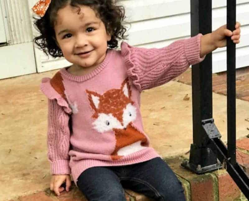 A pequena Arya Hope, menina que foi deixada em um hospital