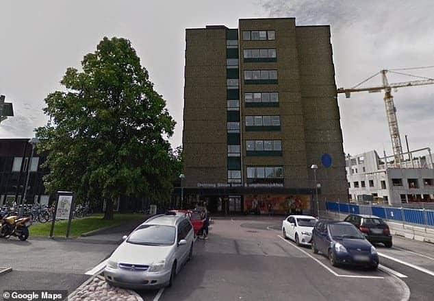 Foi nesse hospital em que a menina de 18 meses ficou internada
