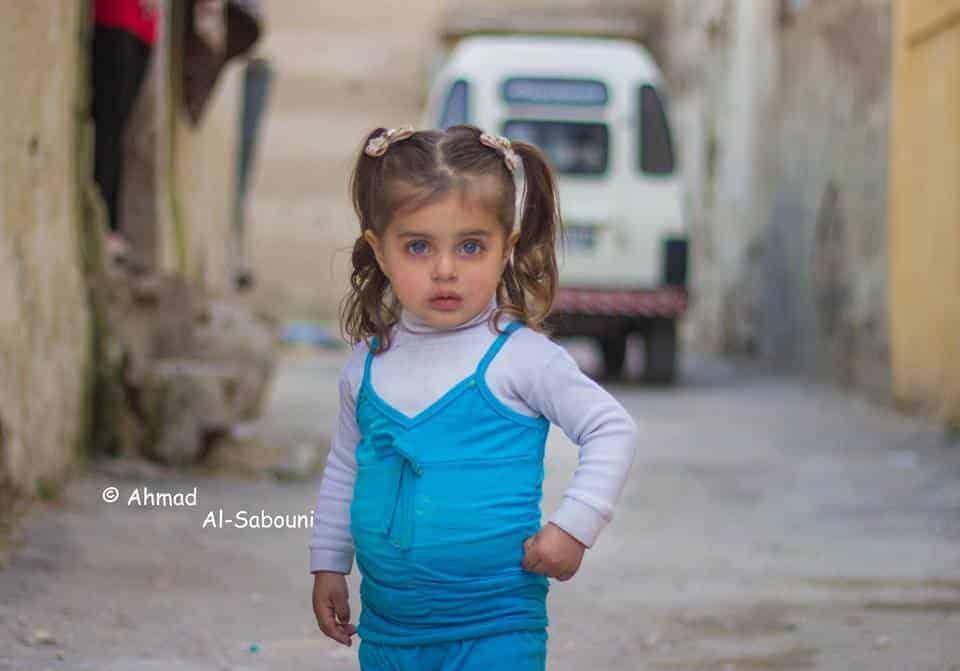 A pequena continua na síria