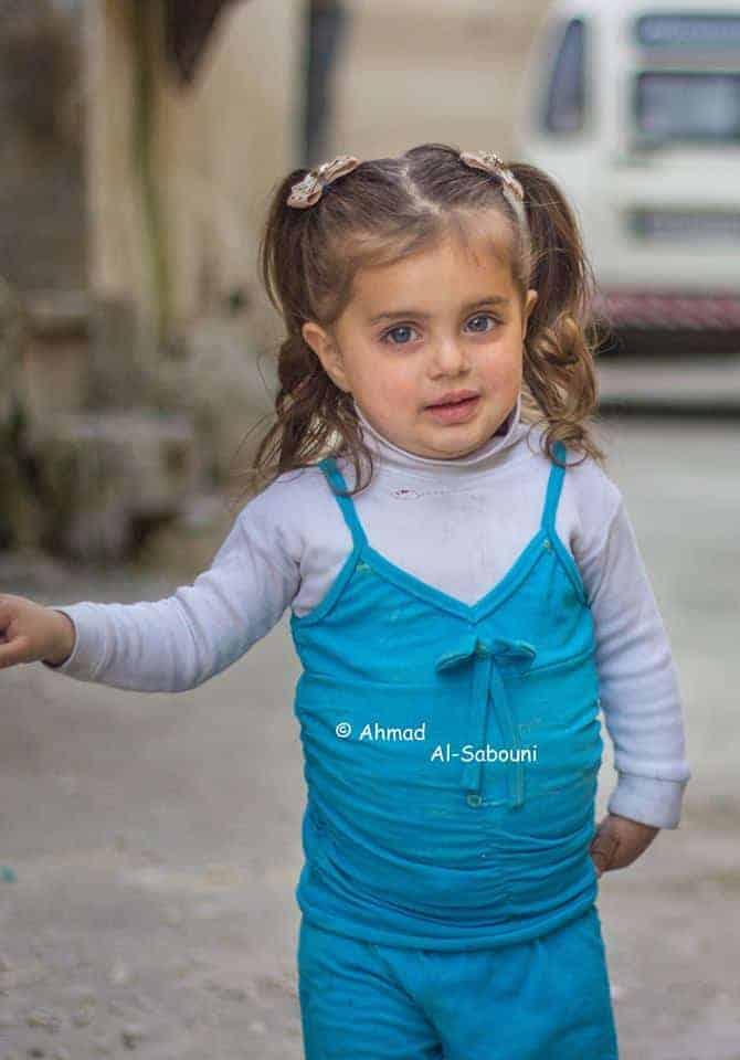A menina síria comoveu a internet