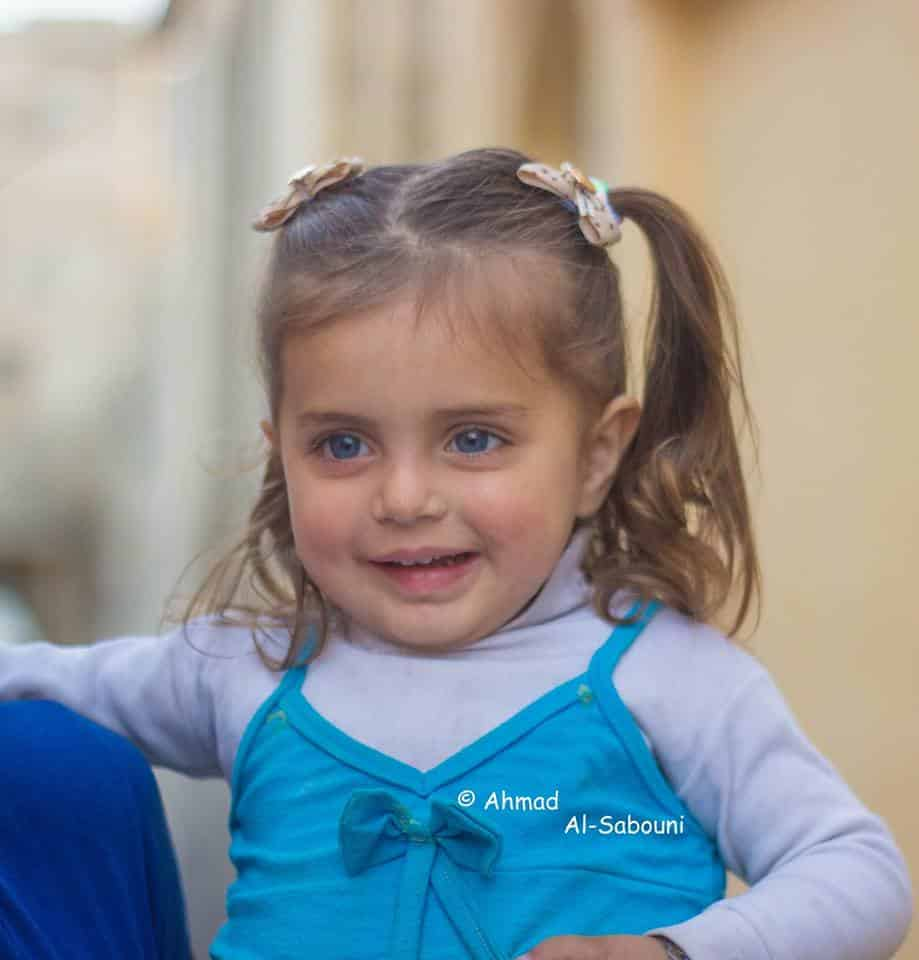 A menina síria ficou famosa em 2017