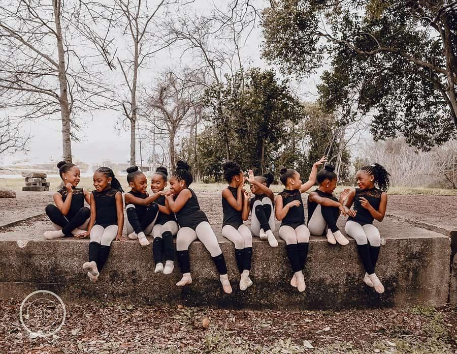 A foto das meninas virou uma lição de empoderamento