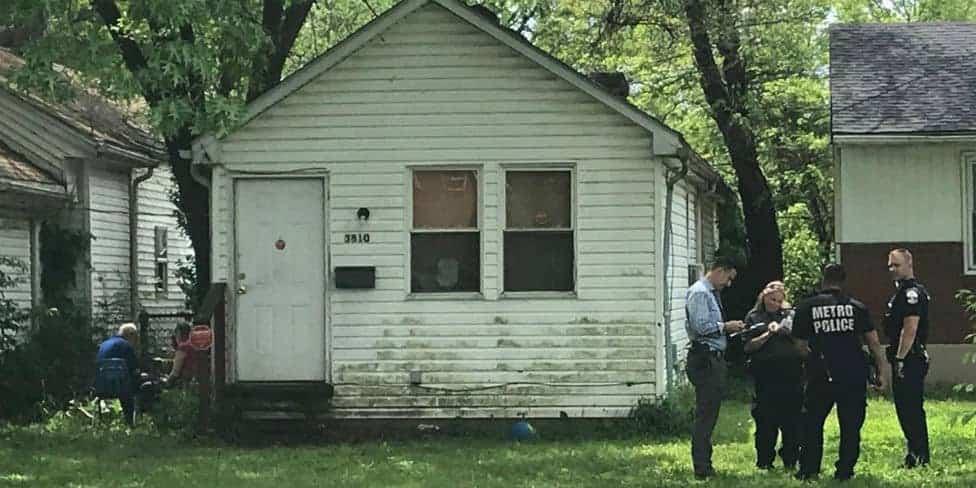 Casa em que o menino foi atacado pelo pitbull bravo