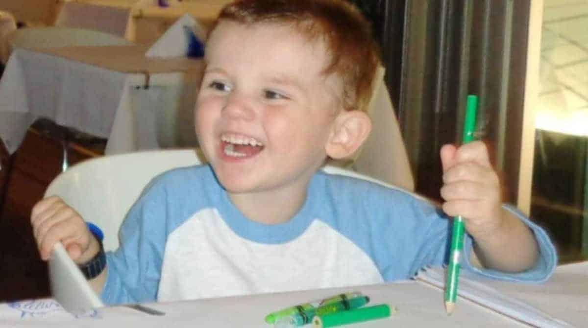 O menino que está desaparecido há cinco anos
