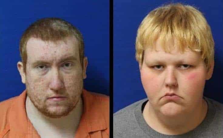 A mãe e o pai do menino de cinco anos que desapareceu
