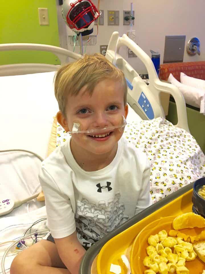 Os recursos para o transplante do menino foram angariados online