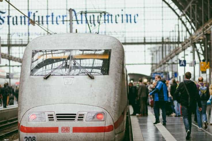 Estação de trem em que o menino de oito anos foi atropelado