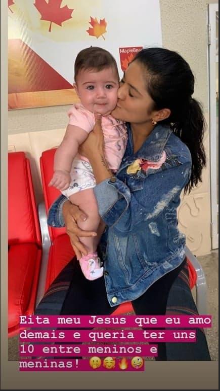 Mileide Mihaile revela que quer ter muitos filhos
