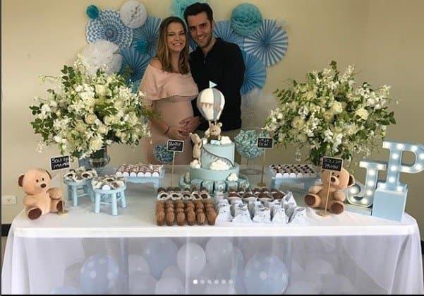 Esse foi o primeiro chá de bebê da atriz Milena Toscano