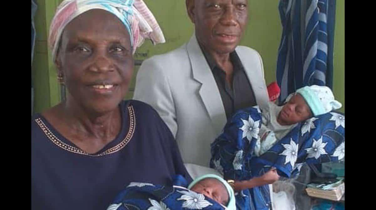 Casal teve gêmeos após 43 anos tentando engravidar