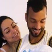 Michel Macedo e Mulher Melancia mostraram seu filho