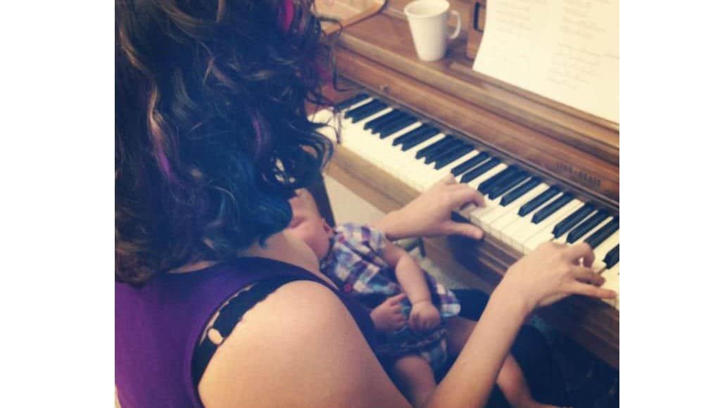 Amamentação e piano