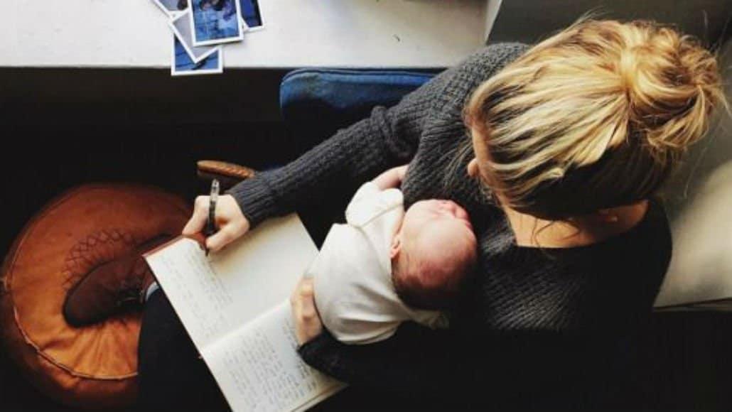 Escrevendo com o bebê
