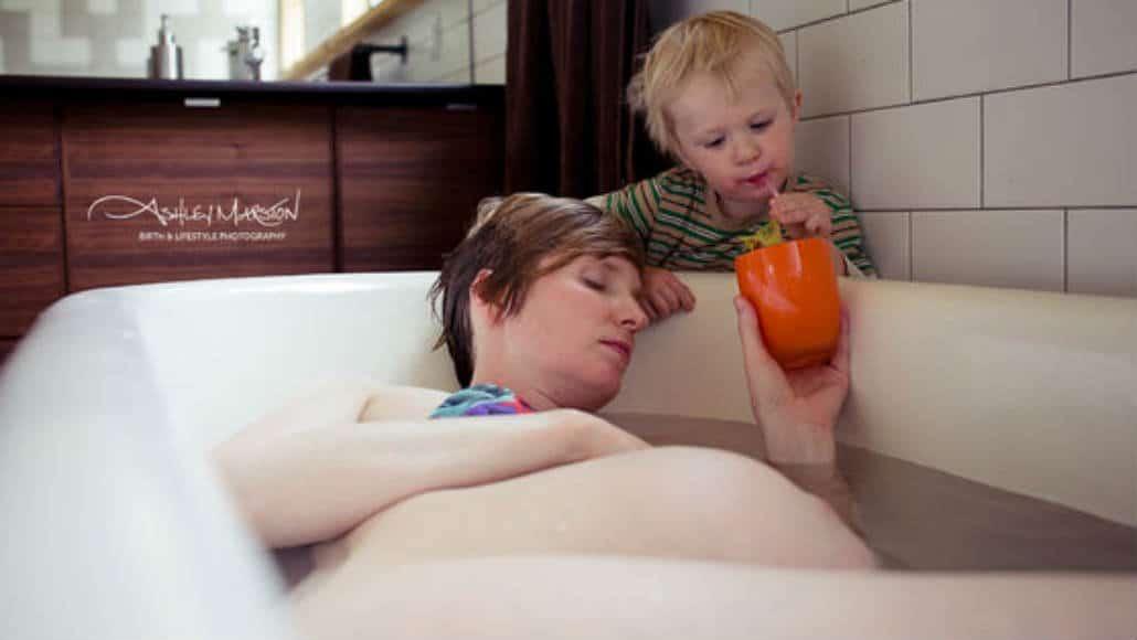 Multitarefas até no parto