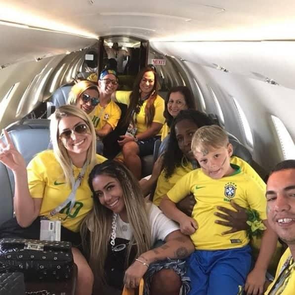 Os familiares de Neymar Jr na Copa