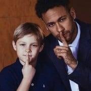 Neymar se declarou pro padrasto de seu bebê
