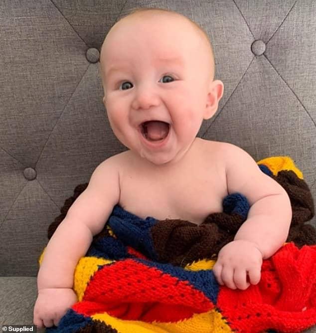 Bebê que sofreu Síndrome da Morte Súbita Infantil