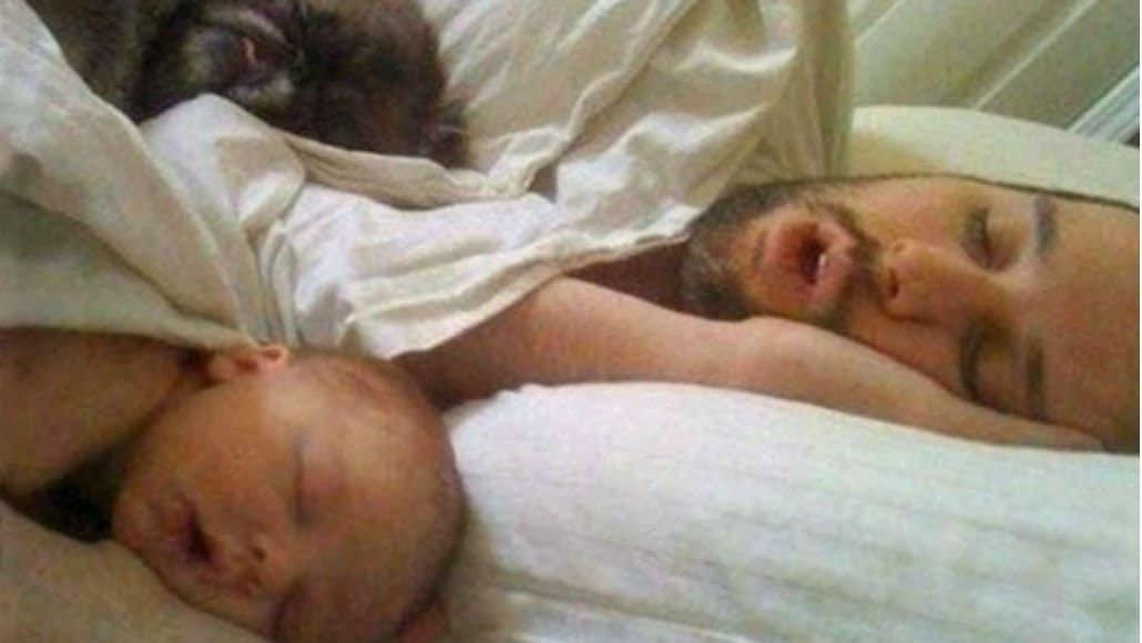 Iguais na hora de dormir