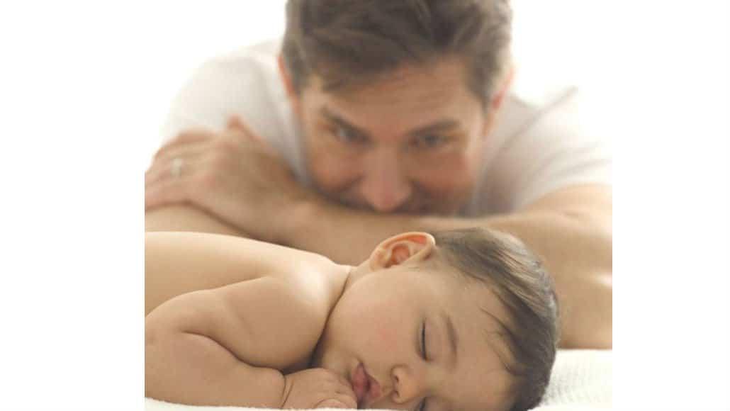 Fotos incríveis do bebê com o pai