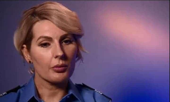 Stephanie Bochorsky, que é policial, salvou as duas meninas