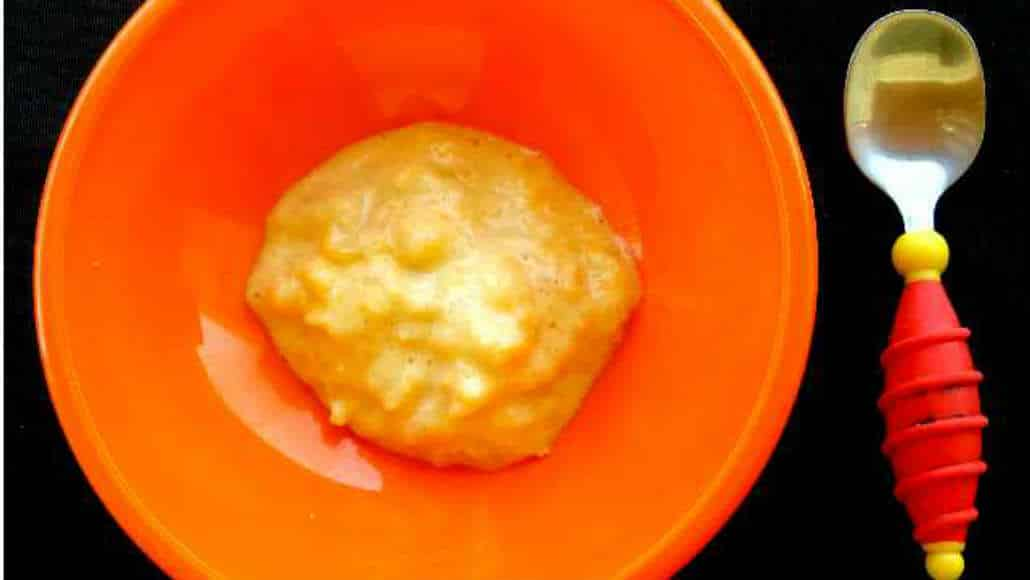 Receitas de papinhas: damasco seco