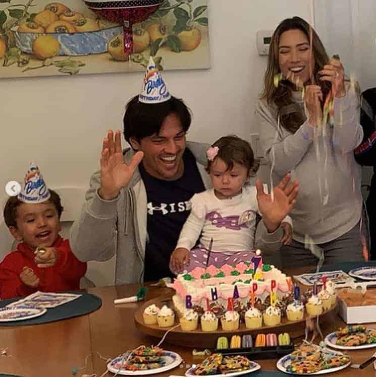 Decoração super fofa da festa de um ano da filha de Patrícia Abravanel
