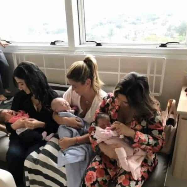 As filhas e os netos de Silvio Santos