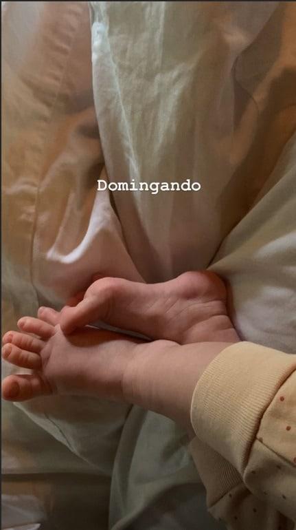 A fofa bebê dos jornalistas Pedro Bial e Maria Prata