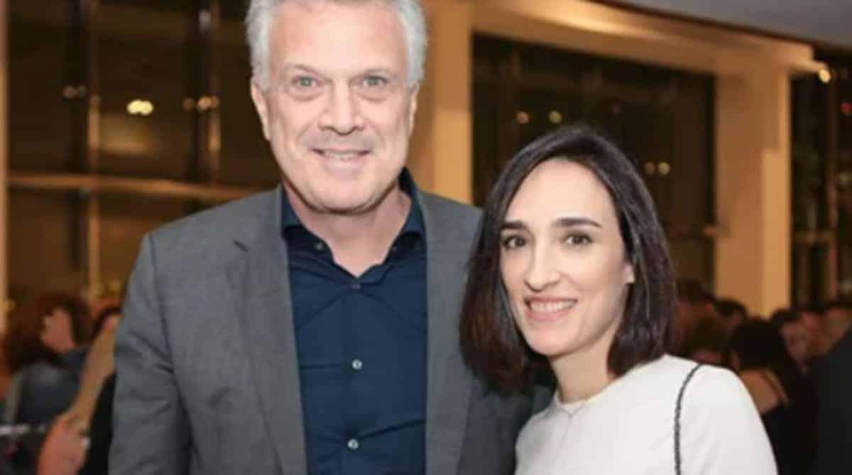 Esposa de Pedro Bial revelou foto rara da bebê deles
