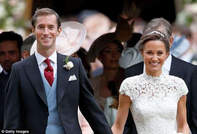 Pippa Middleton e James Mathews terão o primeiro filho