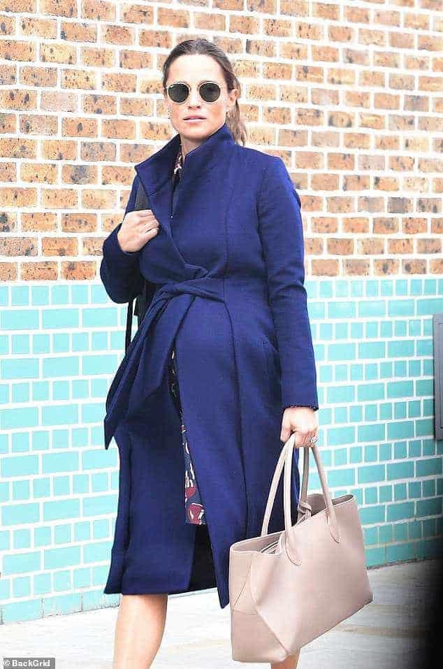 Pippa Middleton gravidíssima