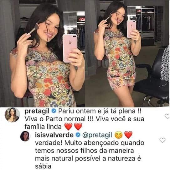 Acompanhe o bate papo entre a atriz Isis Valverde e a cantora Preta Gil