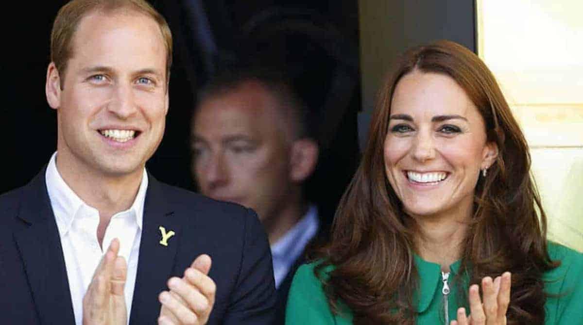 A duquesa Kate Middleton e o príncipe William