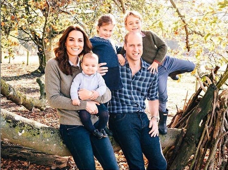 Príncipe William, Kate Middleton e os três filhos