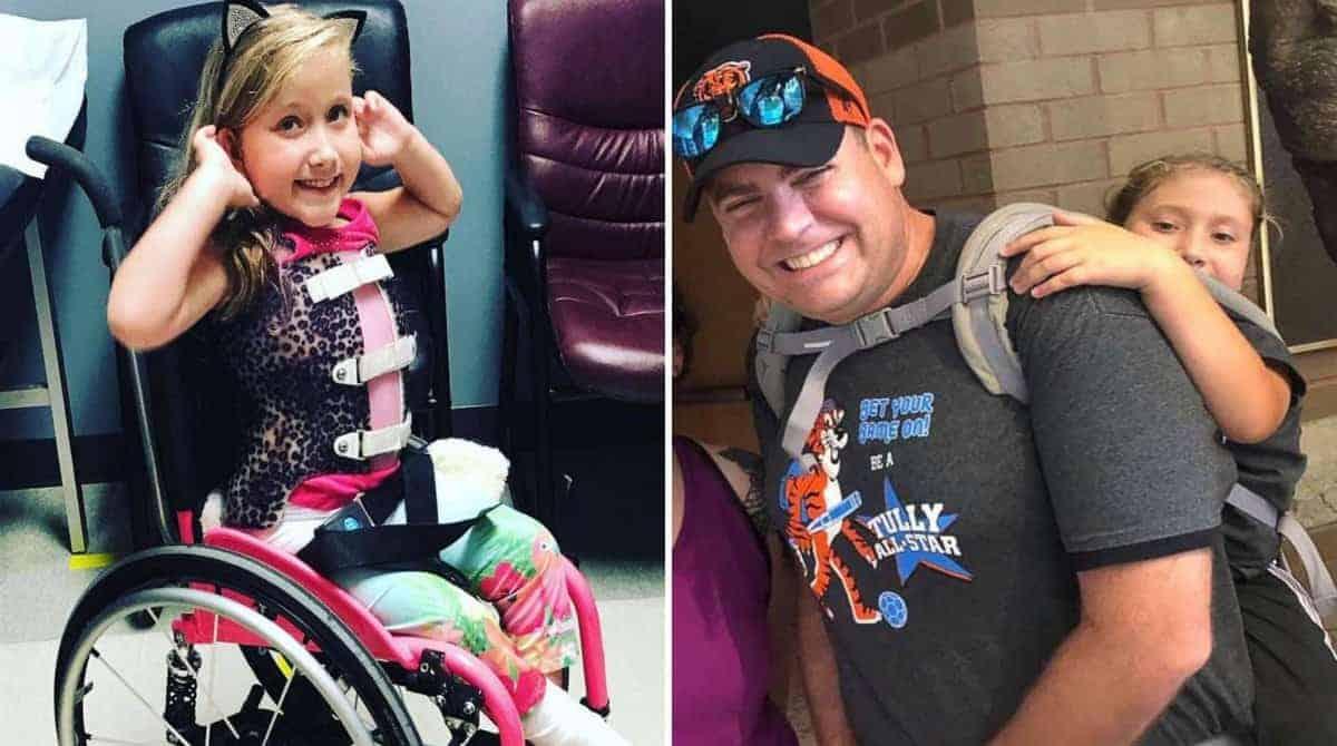 A aluna usa cadeira de rodas e não poderia participar do passeio