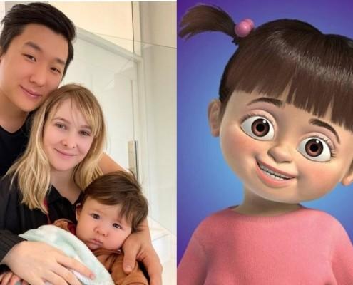 Pyong Lee se fantasiou de Boo para o aniversário do filho