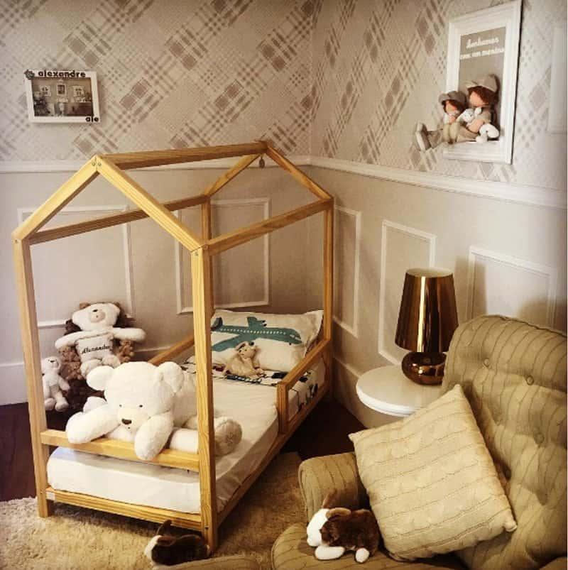Alexandre, filho de Ana Hickmann, tem um quarto montessoriano