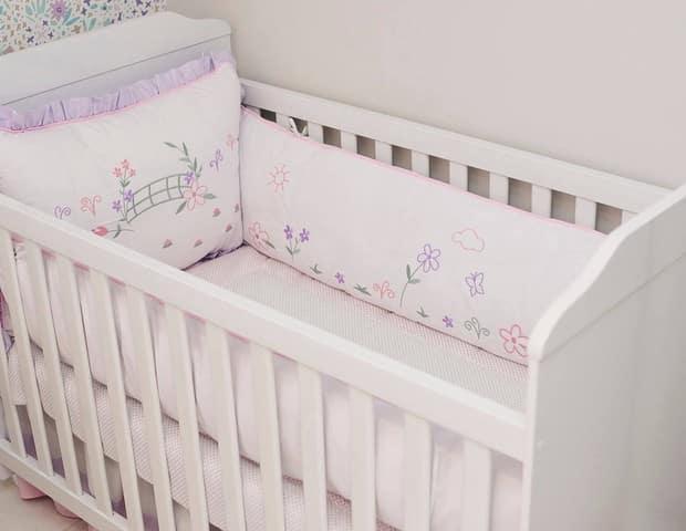 O berço da bebê de Juliana Didone
