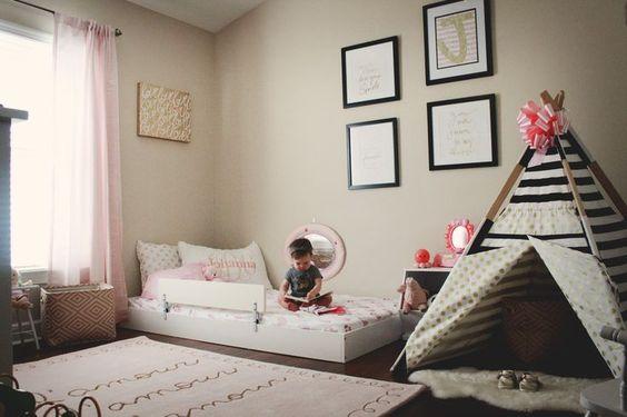 Mais ideia de quarto Montessori