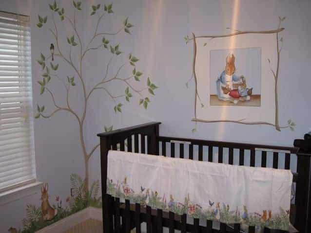 O livro de 1901 foi a inspiração para o quarto do bebê real