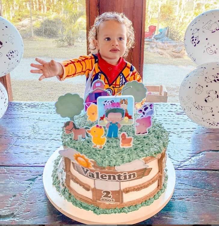 Aniversário de dois anos do filho de Rafael Cardoso