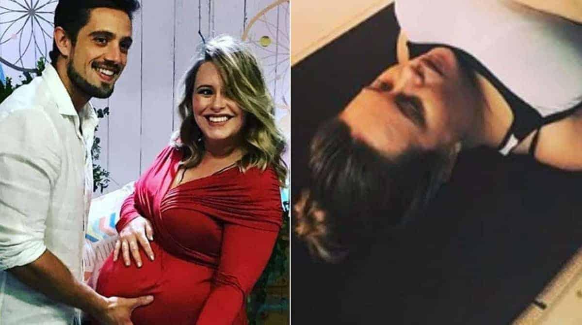 Saiba como Mariana Bridi está fazendo para o filho virar dentro da barriga