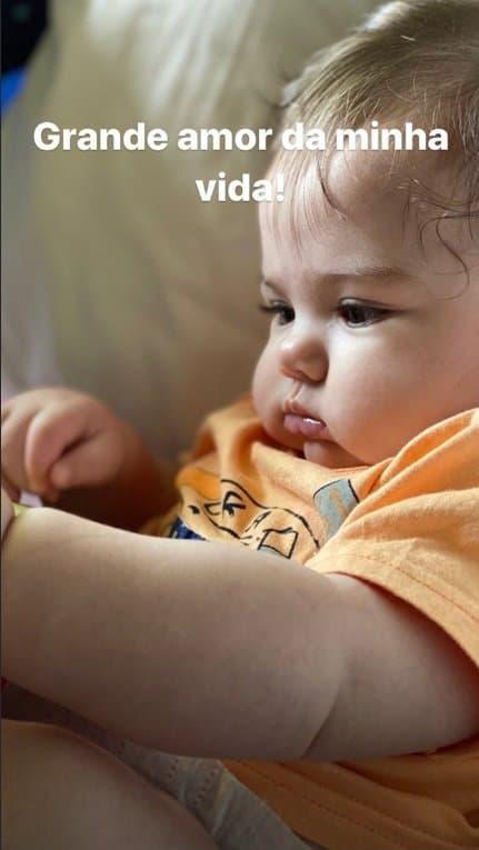 Tatá Werneck fez este registro de sua filha com Rafael Vitti