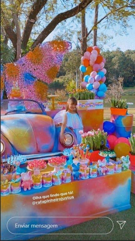 Festa de 11 anos da pequena Rafaella Justus