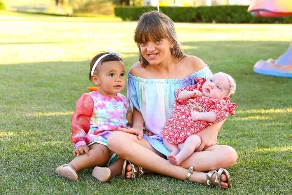 Rafaella Justus e suas irmãs Manuella e Vicky
