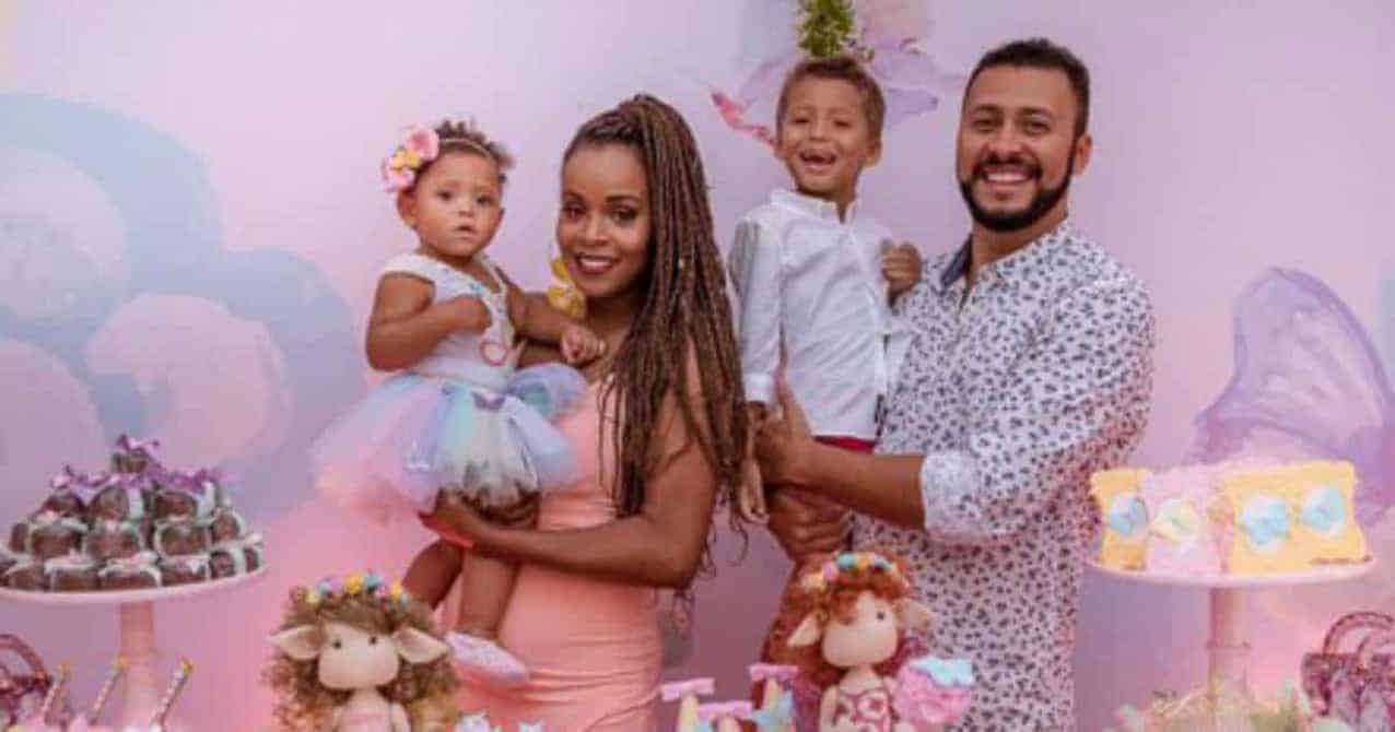 Filha de Roberta Rodrigues faz aniversário