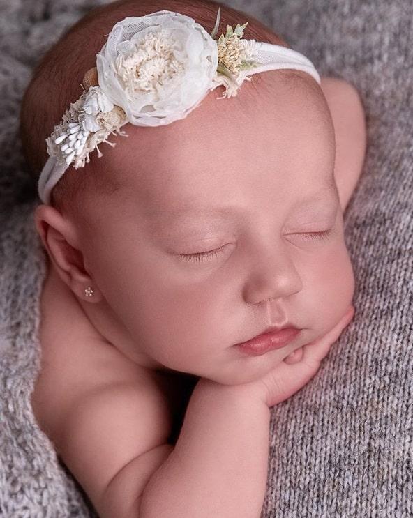 Ensaio da bebê de Roberto Justus e Ana Paula Siebert