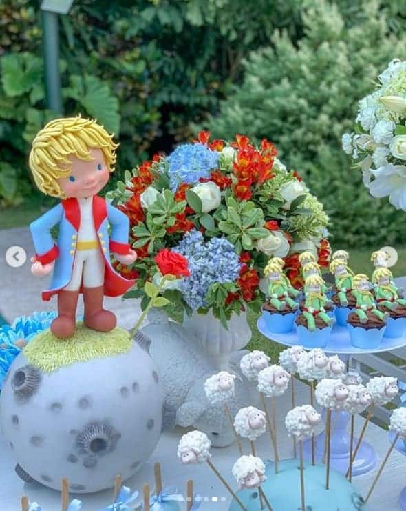 Na festa de um ano do pequeno Arthur veja os detalhes da decoração