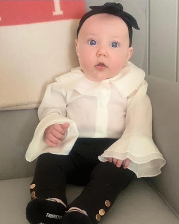 A filha caçula do empresário Roberto Justus